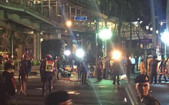 bombing bangkok
