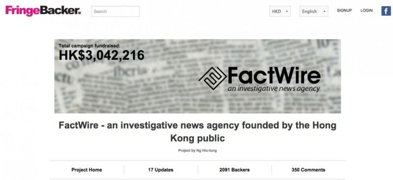 factwire crowd fund