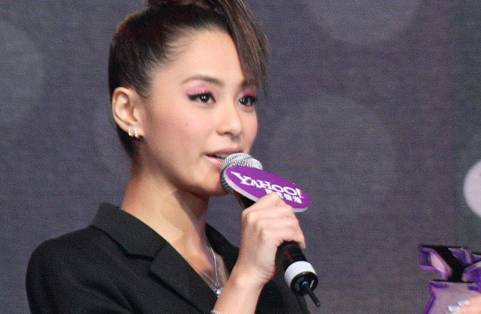 Singer Gillian Chung