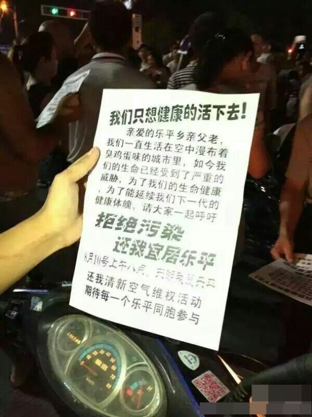 Leping protest
