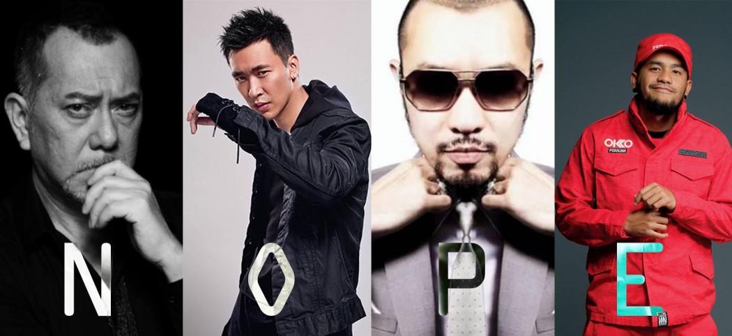 Hong Kong and Taiwan artists on Chinese blacklist.