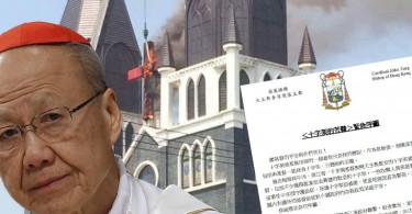 Cardinal Tong on China's cross demolition campaign