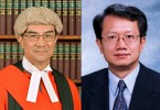 Judge Andrew Chan (left) and former ICAC commissioner Alan Lai.