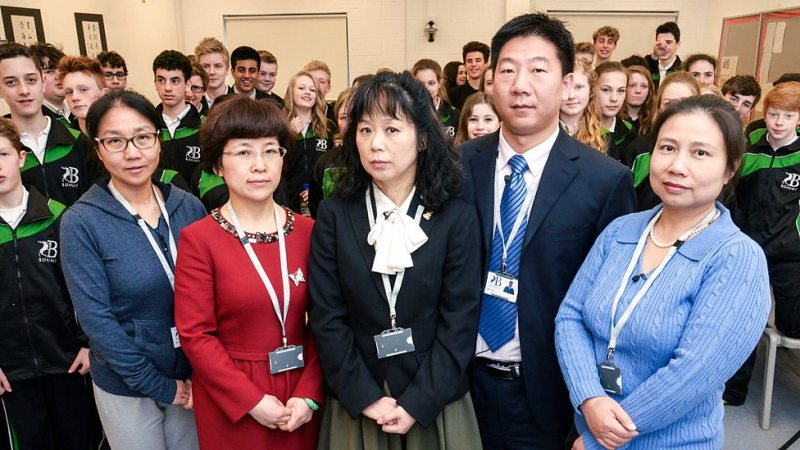 chinese teachers british school