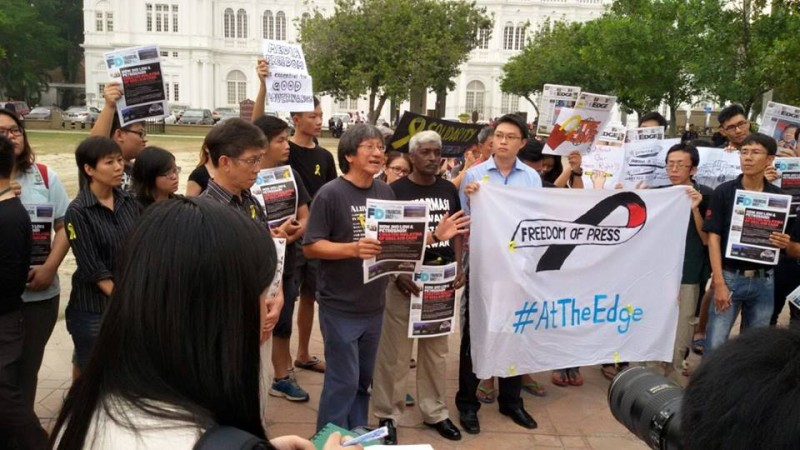 Malaysia's #AtTheEdge campaign challenges media censorship