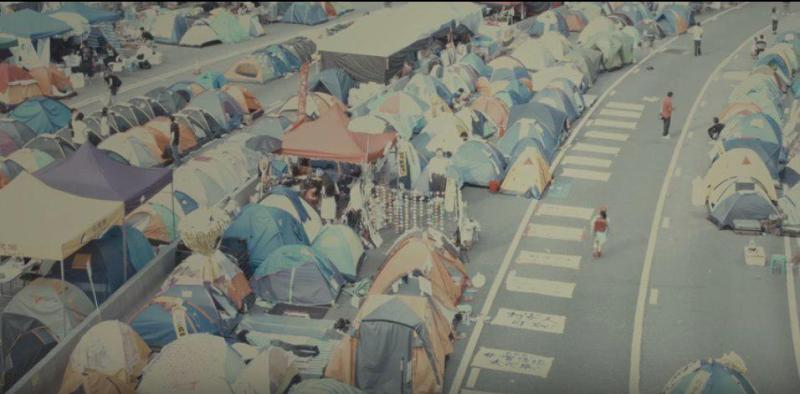 Cinematographer Christopher Doyle will debut his new three-part film series featuring scenes from Occupy