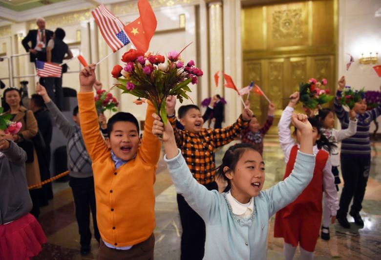 obama children welcome