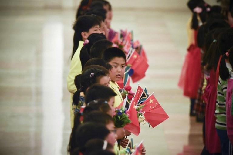 obama children welcome chinese