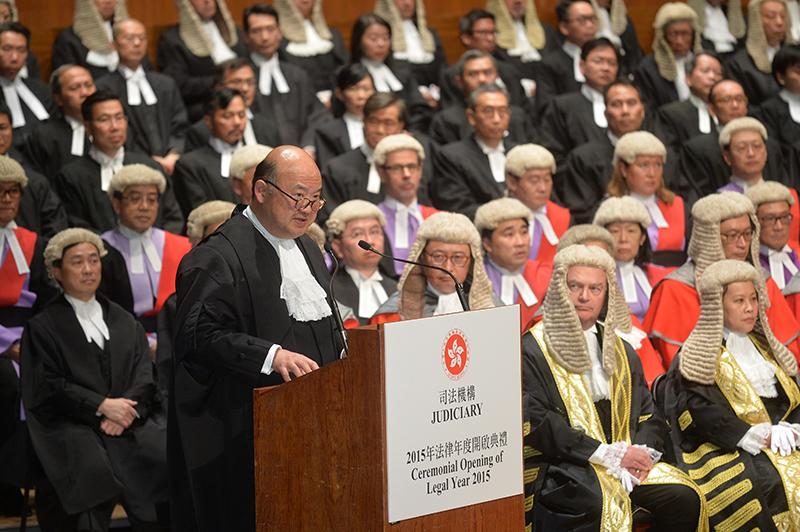 Chief Justice Geoffrey Ma Tao-li