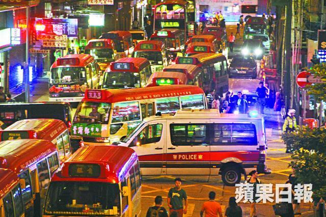 minibus driver occupy