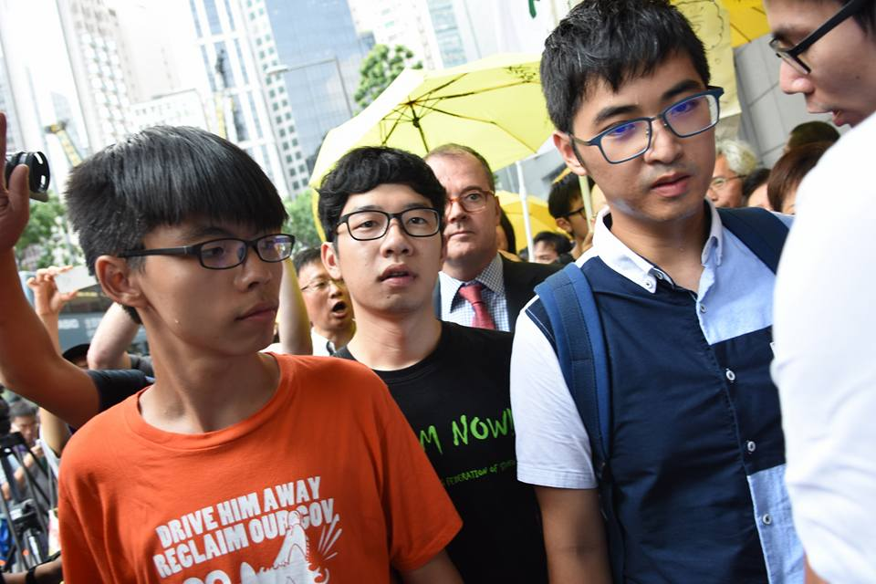 Occupy student leaders.