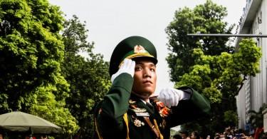 vietnam military parade