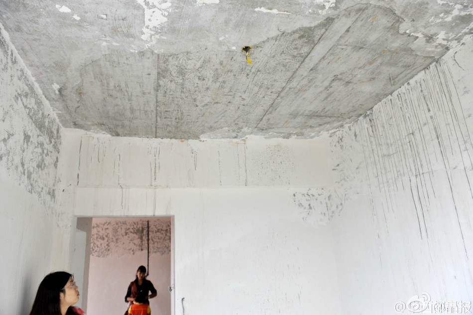 Construction Standards Drop Through The Floor At Newly Constructed