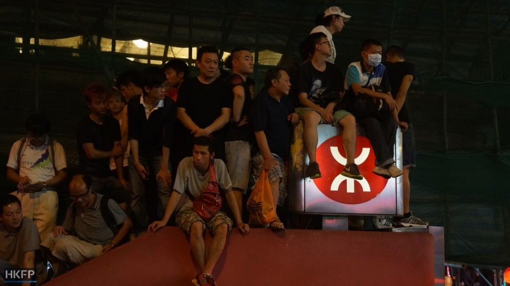 occupy mongkok protest