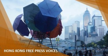 occupy central art umbrella