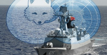 Chinese ships in the Arctic