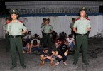Group caught at Shenzhen border