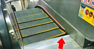 escalator malfunction