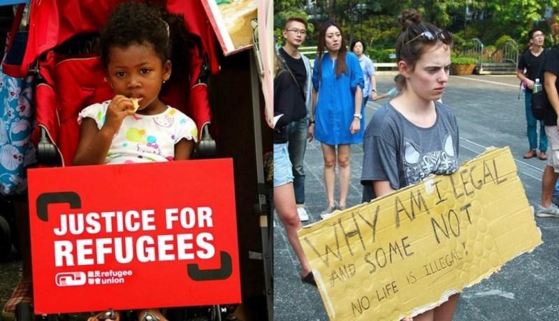 syria protest hong kong
