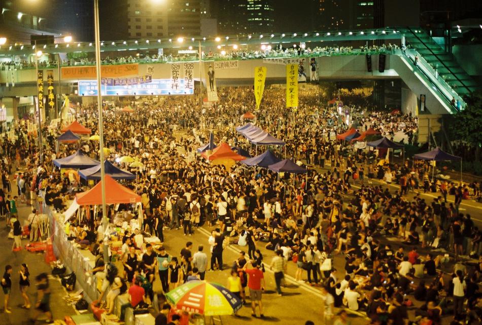 julianne hong kong occupy movement