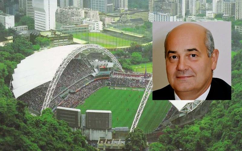 Mark Sutcliffe, CEO of HKFA and the Hong Kong Stadium