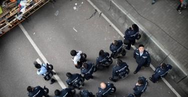 occupyhk anniversary