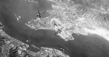 surprise bombing hong kong