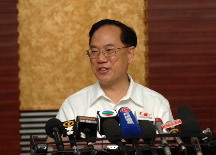 former chief exec donald tsang