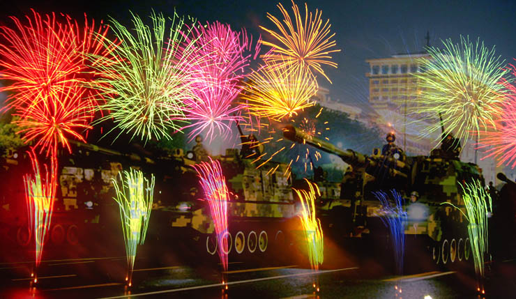 World War Two-themed fireworks