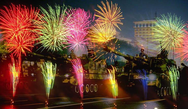World War Two-themed fireworks