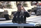 Xi's left-handed salute/wave