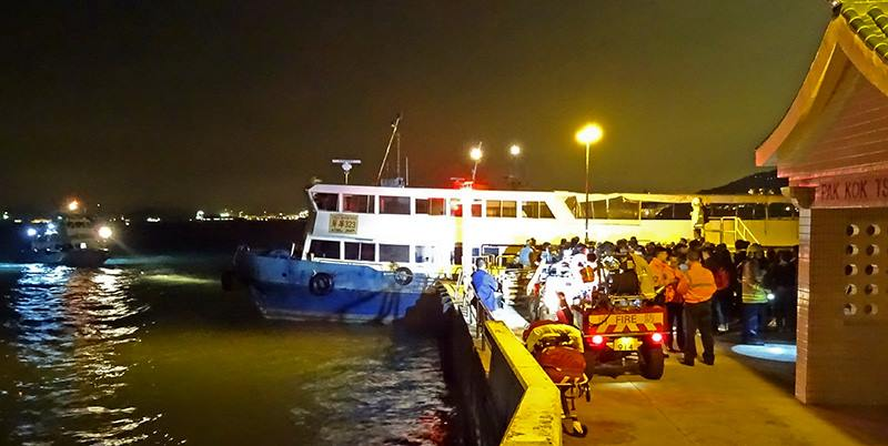 ferry lamma emergency