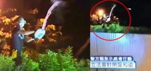 Ken tsang splashing liquid