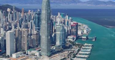 3d google maps hong kong