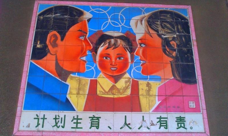 Family planning propaganda in China
