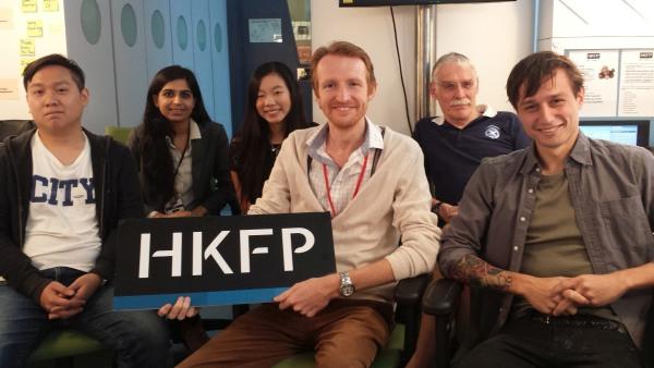 hong kong free press media coverage