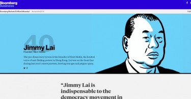 jimmy lai most influential