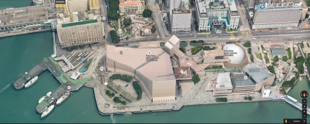 google maps 3d hong kong