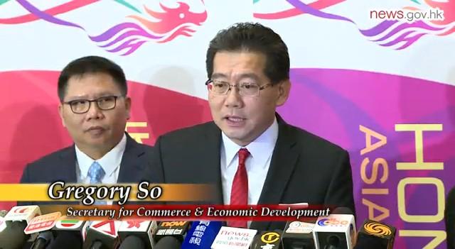 Secretary for Commerce and Economic Development Gregory So