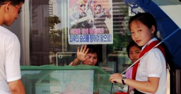 north korea kids ice cream