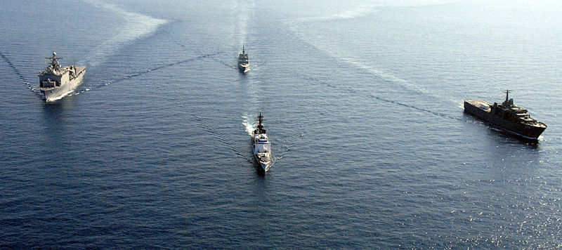 south china sea naval ships