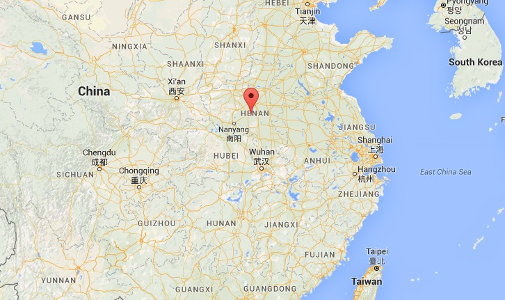 Beiwudu town, Wuyang county