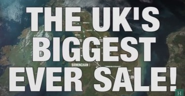 UK sale humour satire