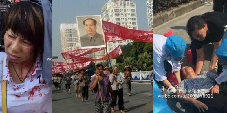clashes china