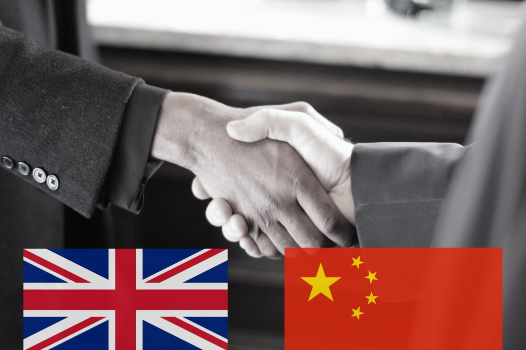 china. uk. handshake