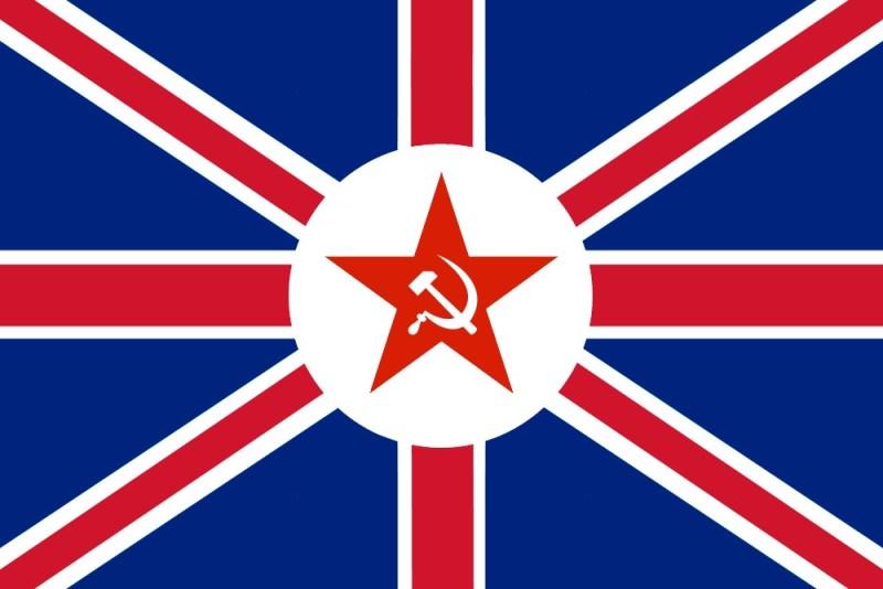 communist british flag