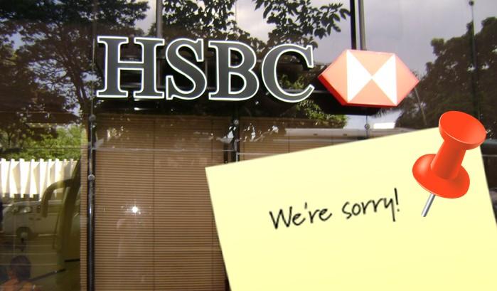 hsbc sorry