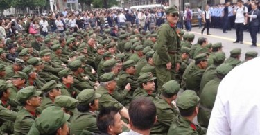 pla veteran protest