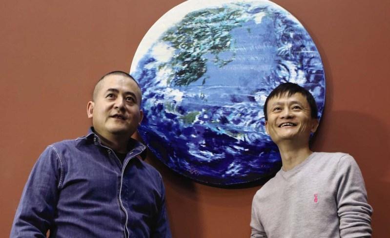 Jack Ma painting