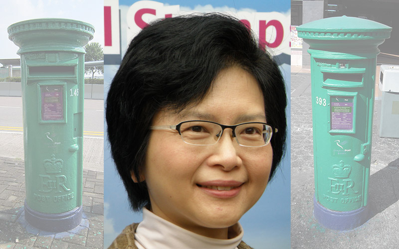 Postmaster General Jessie Ting Yip Yin-mei
